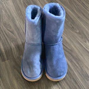 Blue classic uggs
